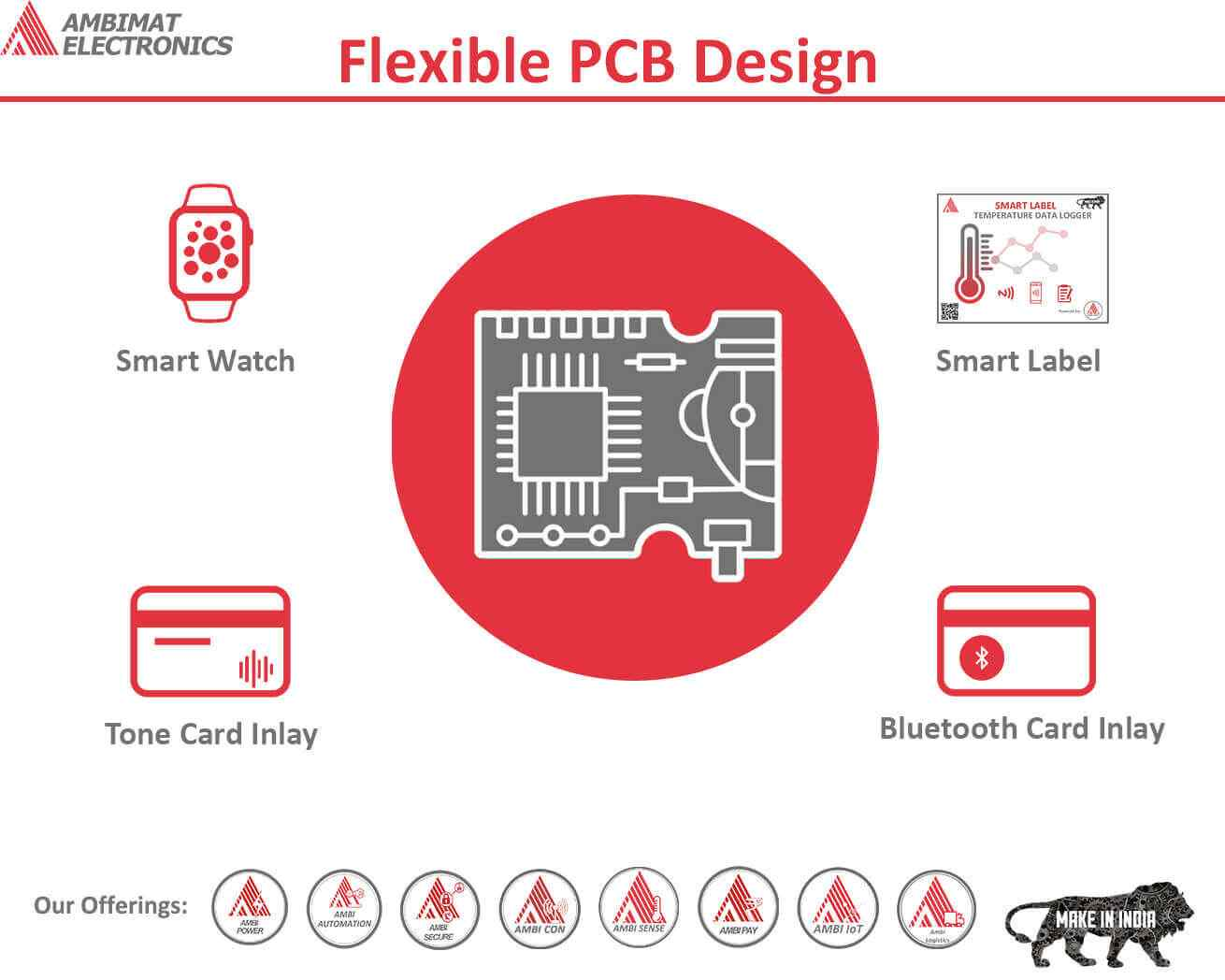 Flexible PCB designs